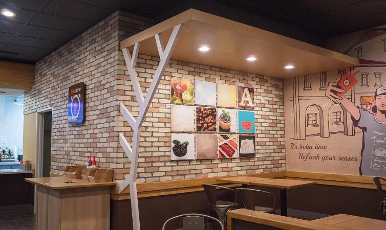 奶茶店适合什么风格风格_福州奶茶店装修价格多少钱