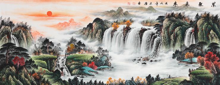 中式客厅装饰挂什么国画好看-重庆装修网