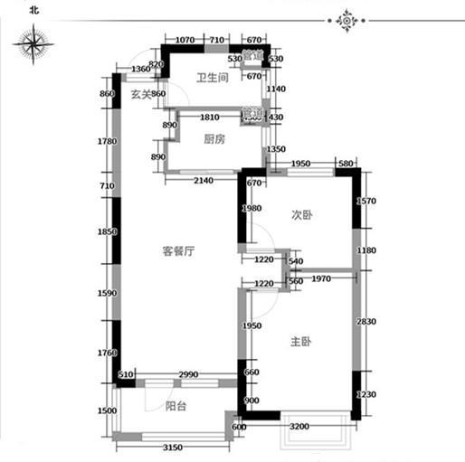 江夏区保利清能西海岸装修设计作品案例