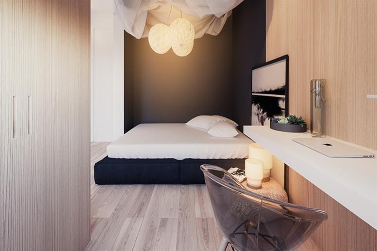 武汉50平米小户型房装修,两室一厅实用性装修案例