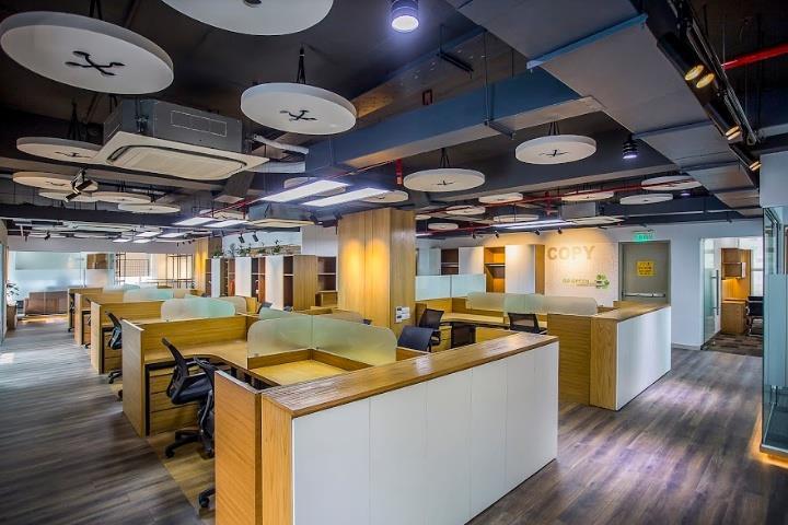 500平米温馨整洁的办公室装修效果图赏析