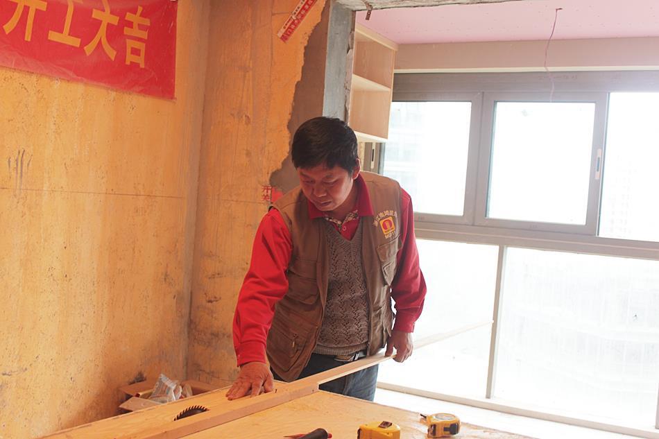 浙江南鸿装饰木工阶段