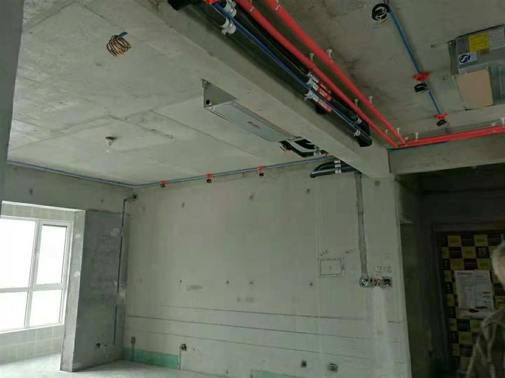 峰光无限装饰水电阶段