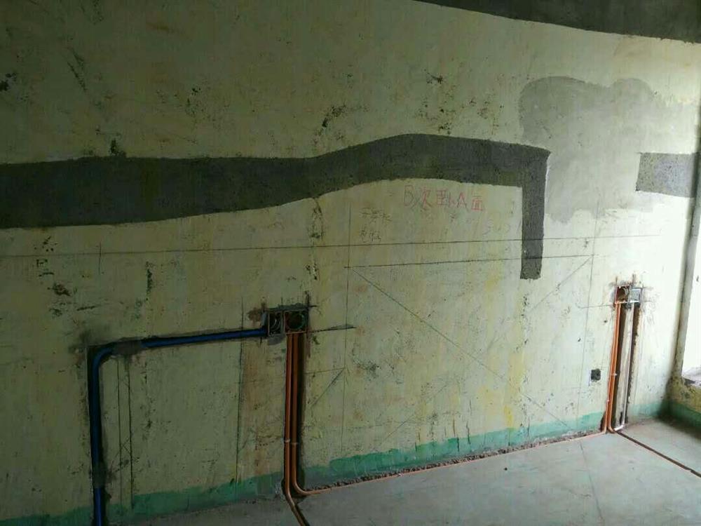 杭州楚邦上易装饰水电阶段
