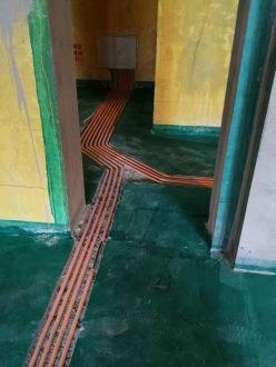 杭州圣都装饰水电阶段