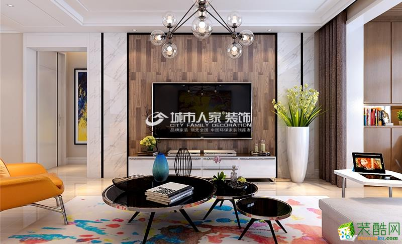 保利香槟国际设计专场:143平米现代简约风格装修设计