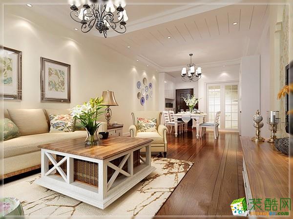 现代简约风格114平米三室两厅装修实景案例图--宅速美装饰