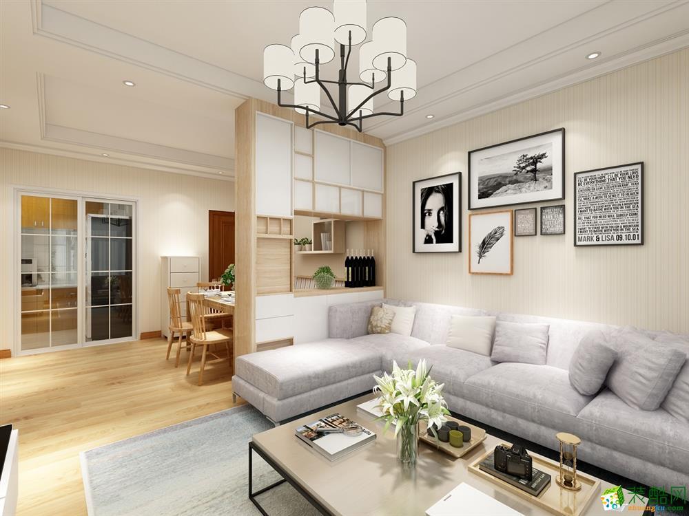 中式风格137平米三室两厅装修效果图--华浔品味装饰
