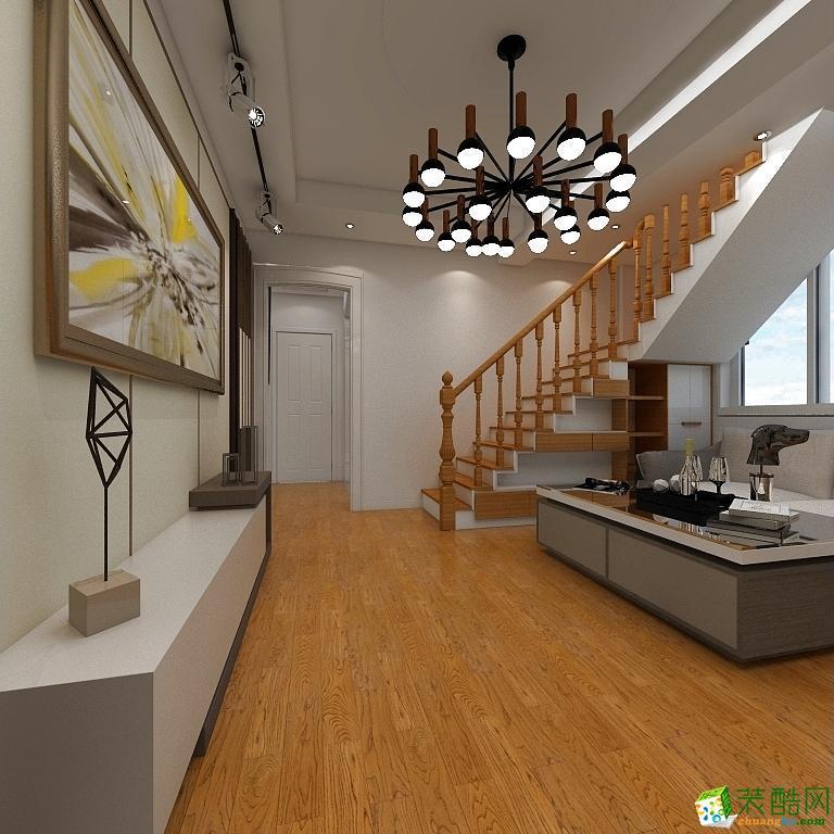 全迪装饰―武湖新天地125方现代风格三居室装修效果图