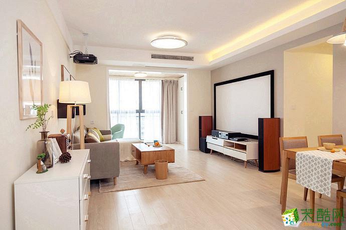 武汉交换空间装饰―110方三室两厅简约风格装修效果图