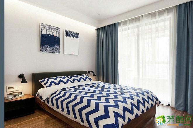 交换空间装饰―72方两室两厅北欧风格装修效果图