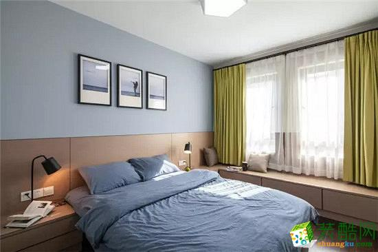 武汉交换空间―68方两室一厅简约现代装修效果图