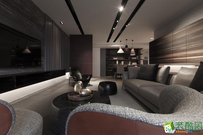 峰光无限装饰公司丨海亮新英里三室136平现代风格