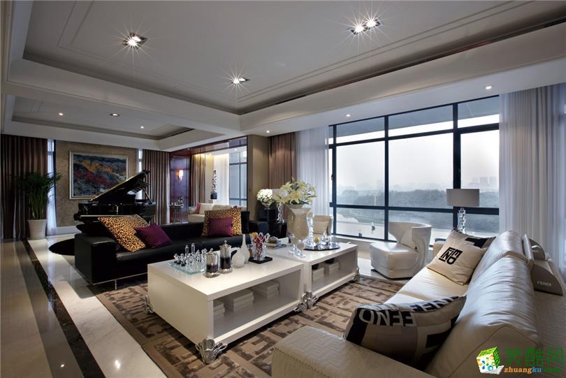 简欧风格86平米两室两厅装修实景案例--星艺装饰