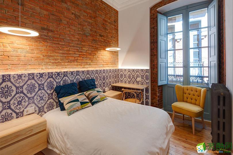 >> 極簡北歐風格98平米兩居室裝修實景案例圖--生活家裝飾