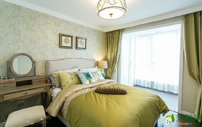【绵阳东美装饰】126方三室两厅现代简约风格装修效果图