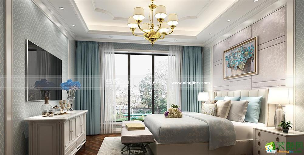 南通大宅装修―城市嘉苑180平欧式大平层装修设计案例