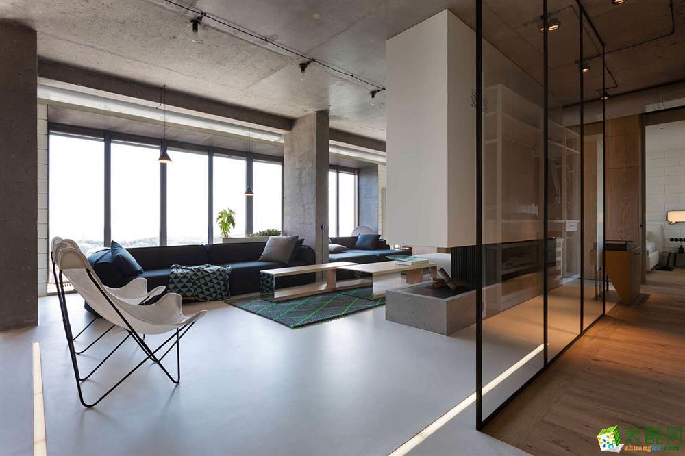 工艺风格208平米四室两厅装修实景案例图--_***_装饰