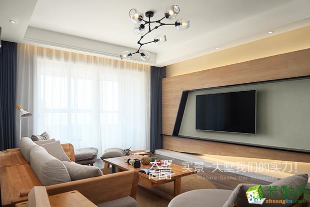 大墅装饰―世茂五期152方简约风格四居室装修设计效果图