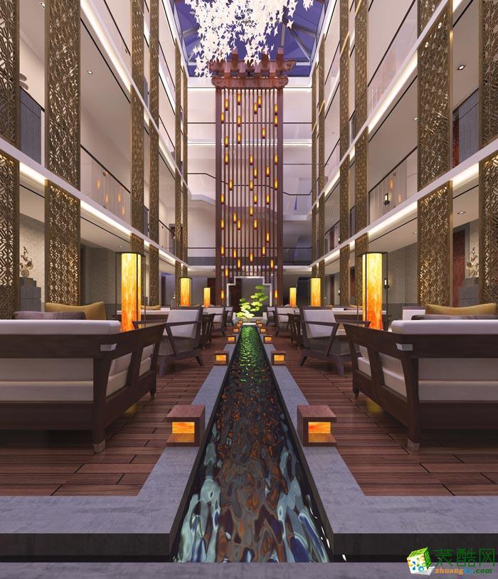 杭州岚禾工装―特色度假酒店装修设计案例