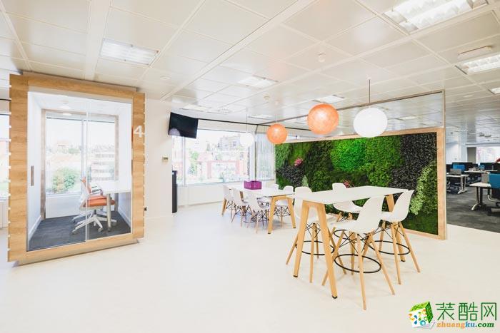 岚禾装饰―3000平食品公司办公室装修设计案例