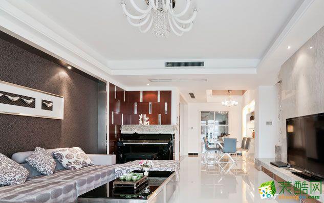欧式风格140平米四室两厅装修实景案例图--远诺装饰