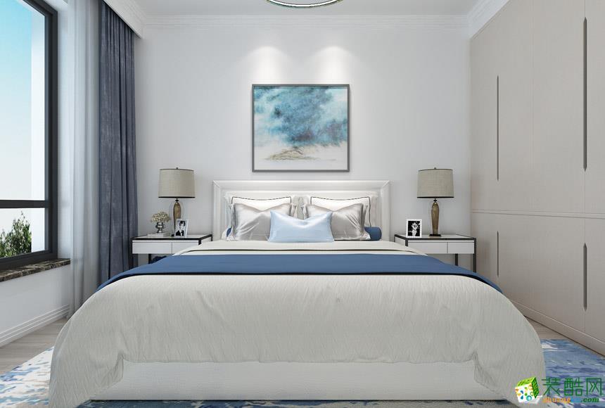 逸居风尚装饰-现代简约三居室装修效果图