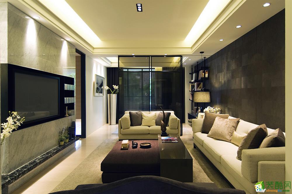 吉杭装饰―126方三室两厅简约风格装修效果图