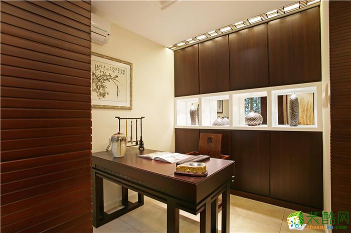 吉杭装饰―130方中式风格三居室装修效果图