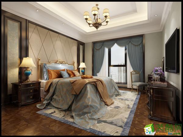 杭州龙发装饰―康城一品200方新古典风格别墅装修效果图