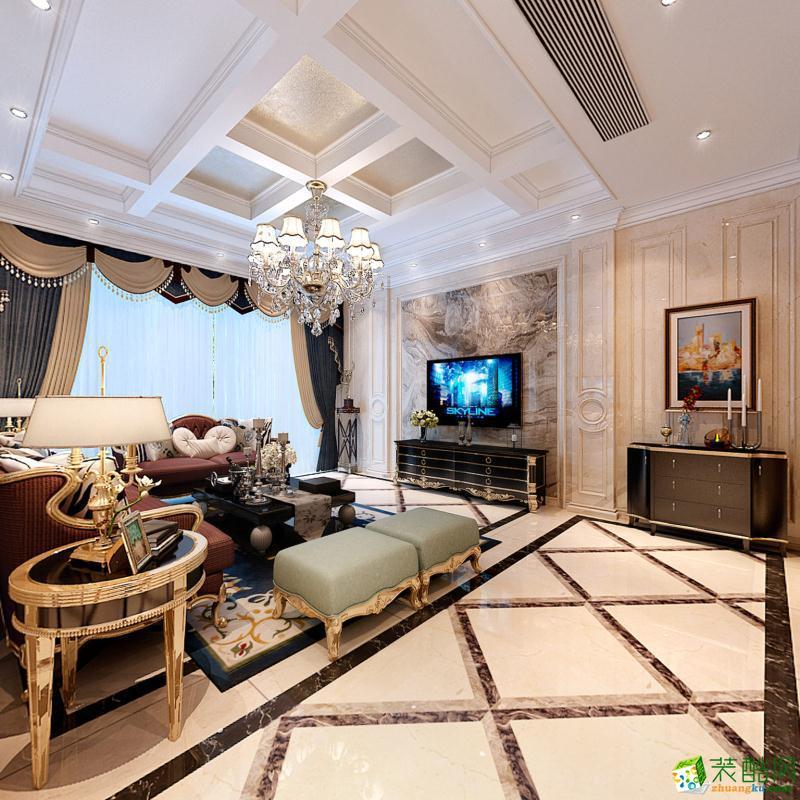 【�|盛装饰】300平米别墅美式风格装修效果图