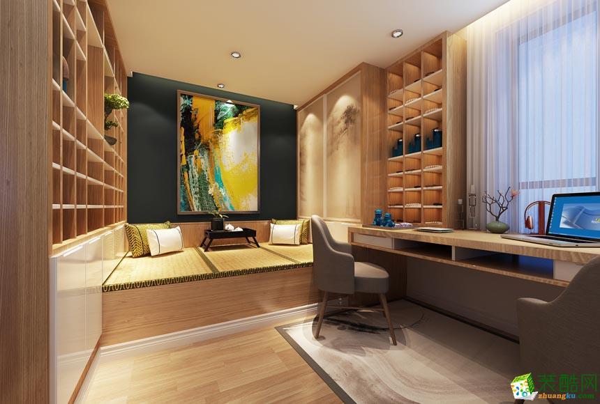 新余美佳装饰-新中式三居室装修效果图