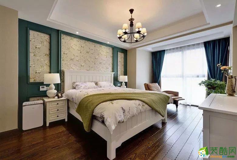 杭州维品国际设计―150方美式风格四居室装修设计效果图