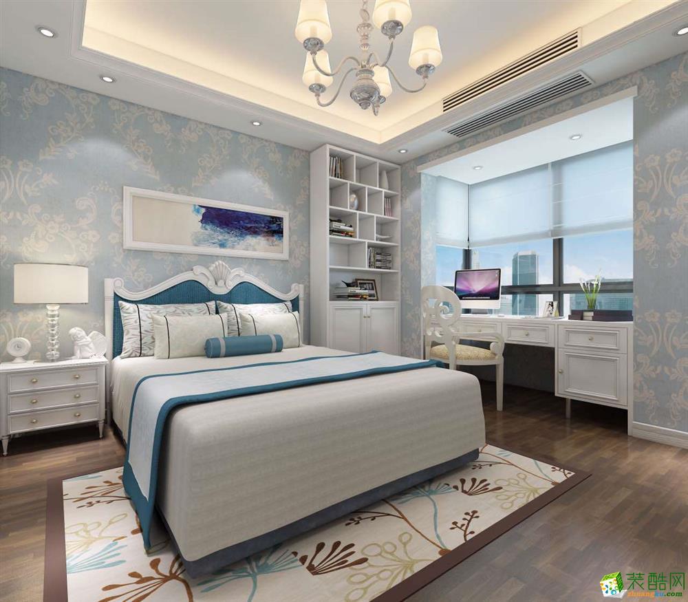 【永旭装饰】三室两厅欧式风格装修效果图