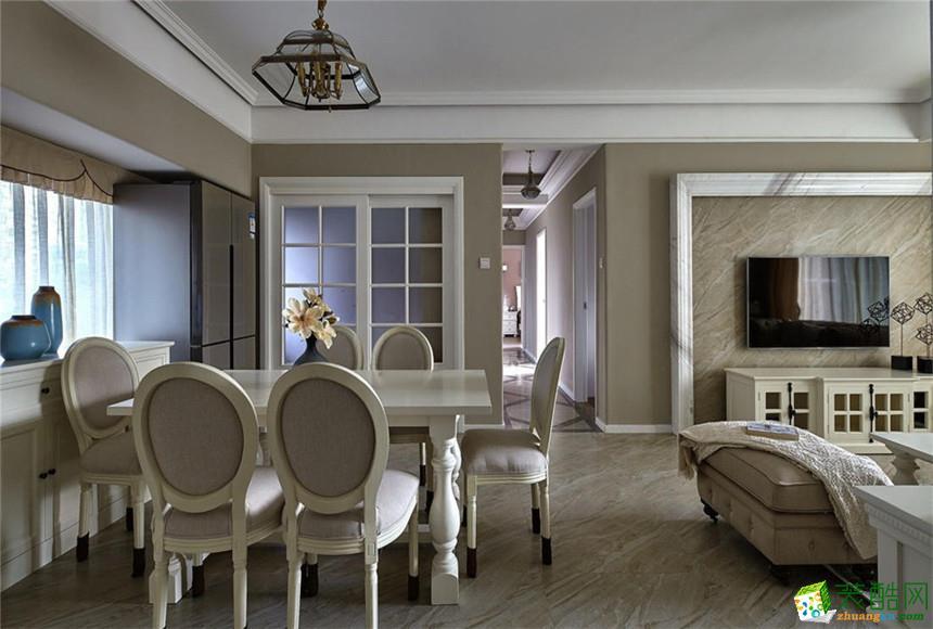 宣城匠出名门装饰-欧式三室装修效果图