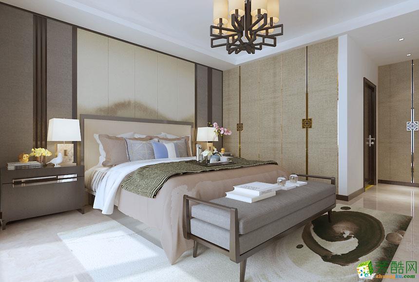 无锡美集客装饰-新中式三居室装修效果图