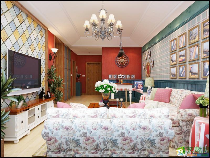 忻州经纬装饰-混搭两室装修效果图