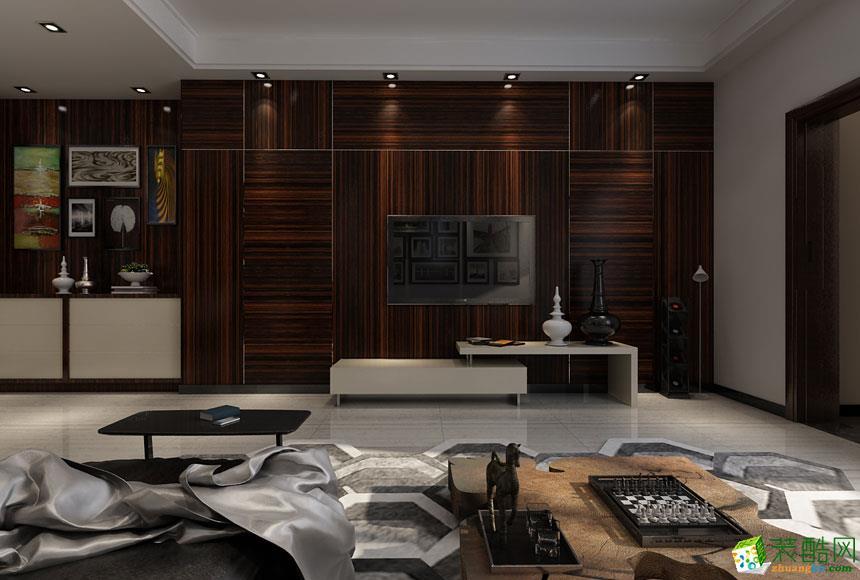 忻州经纬装饰-现代简约四室装修效果图