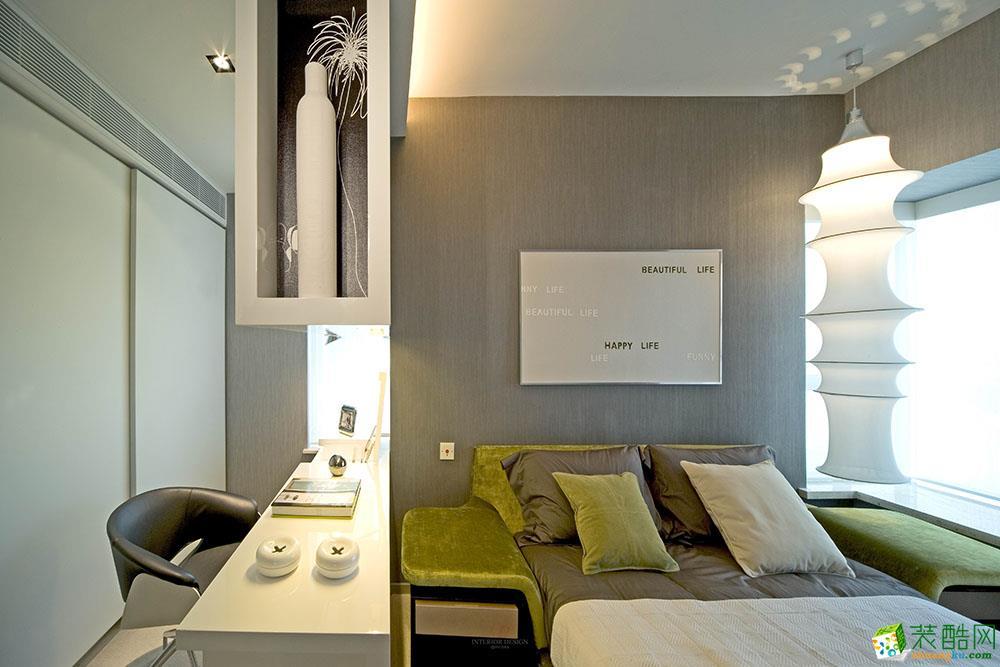 【華佑裝飾】柏悅瀾庭107平米-現代簡約兩居室