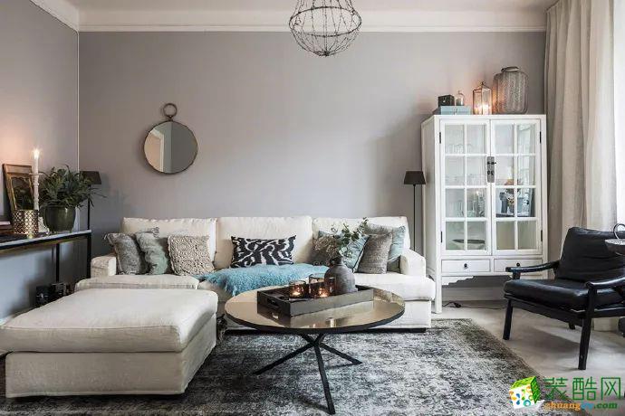 美颂雅庭14.2万打造98平现代风格时尚两居室