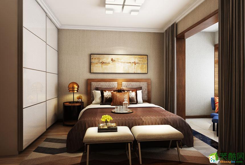 无锡阔达装饰-现代简约两居室装修效果图