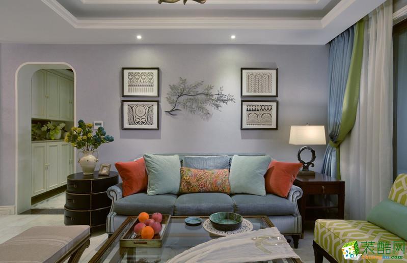 精英装饰―122方三室两厅地中海风格装修效果图