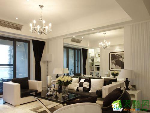 阳光家居装饰―57方两室一厅简约风格装修效果图