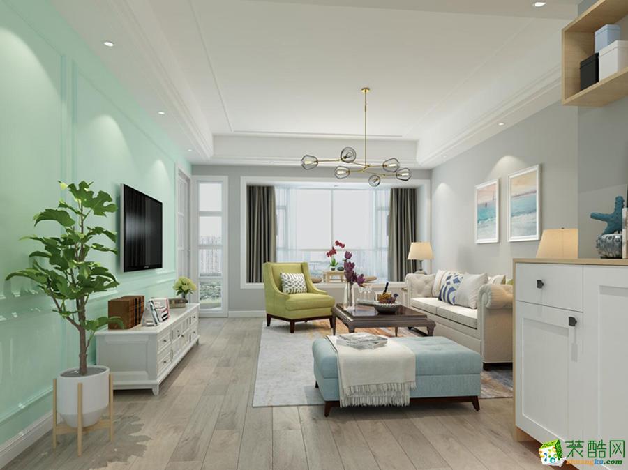 金树叶装饰―85方两室两厅装修设计效果图
