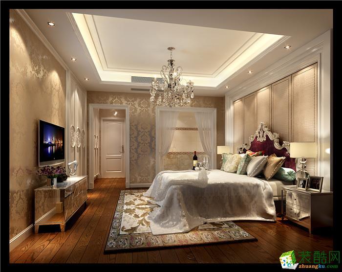 精英装饰―120方简欧风格三居室装修效果图
