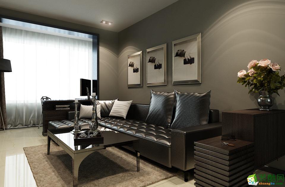 济南新空间装饰-现代简约三居室装修效果图