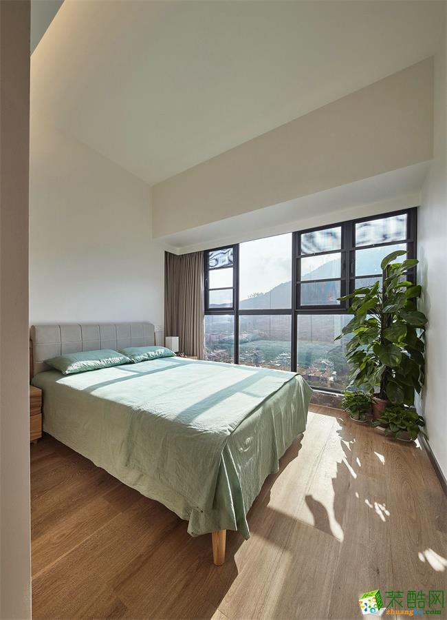 【维艺装饰】金色港湾 79方两室一厅新中式风格