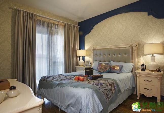 100平地中海风两居室装修效果图