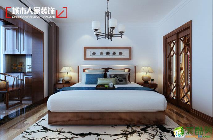 淄博城市人家| 曦园140平新中式装饰装修设计效果图案例