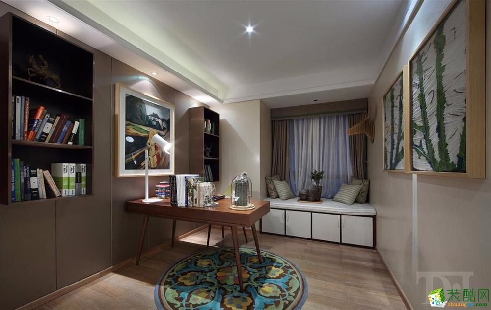 天地和家装―大华滨江天地92方三室两厅现代装修效果图